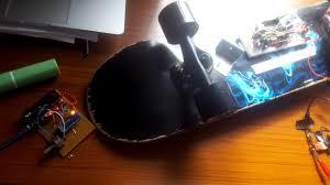 diy arduino electric skateboard