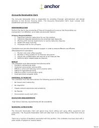 Accounts Payable Resume Templates Template Receivables Sample