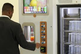 Fresh Juice Vending Machine Fascinating Juicebot Vending Machine Makes Fresh Juice Business Insider