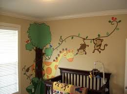 jungle theme nursery for girl stickers baby room ideas jungle theme