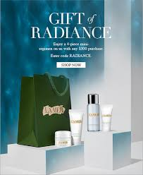 gift of radiance enjoy a 4 piece mini regimen on us with any 300