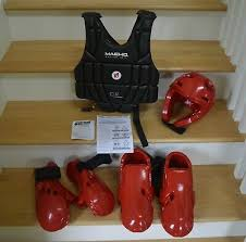 Ata Sparring Gear Adult Medium See Sizes Inside Size 15