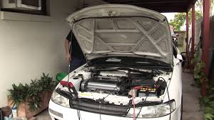 Toyota Corolla AE101 GT-Apex Levin, new engine first start. - YouTube