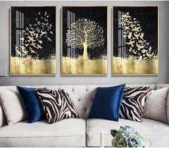 set of 3 luxury wall art printable