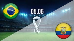 Brazil and ecuador have scored 25 times after start time: Jiitfxbw3plqfm