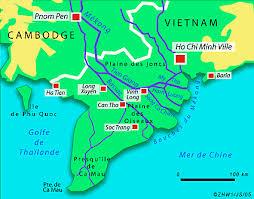 """Résultat de recherche d'images pour """"delta mekong avec ses 9 bras"""""""