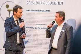Office Award Internationale Preisverleihung Für Gesunde Arbeitswelten