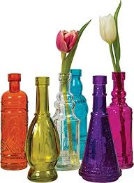 Decorative Colored Glass Bottles Decorative Bottles Olivia Decor decor for your home and office 65