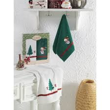 <b>Набор кухонных полотенец KARNA</b> Noel 2шт, 3405/CHAR002 в ...