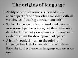 essay on the origin of languages on the origin of language essay on the origin of languagesthe origins of language origin of language according to yule