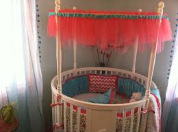 Circular Crib Bedding Baby Nursery Awesome Round Baby Crib Ideas Circular Crib Bedding