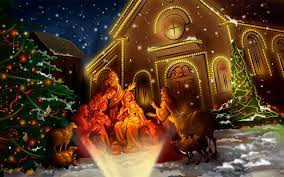 Christmas Wallpaper Pictures Of Jesus