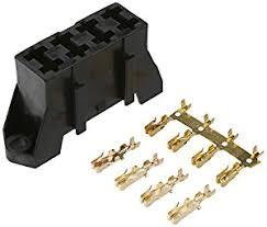 41zBll5D6bL._SX300_ amazon com dorman 85668 black fuse block holds 4 blade fuses on dorman fuse box fuses 8