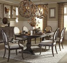Pedestal Dining Table Set 7 Piece Double Pedestal Dining Table Set By Art Furniture Inc