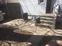 building raised deck on solid concrete