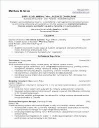 Intern Resume Examples New Internship Resume Examples The Proper Resumes For College Students