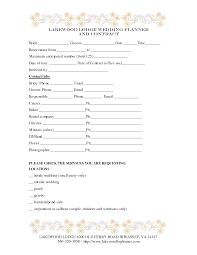 Free Wedding Planner Contract Templates Wedding Planner Contract Samples Feli Fonte