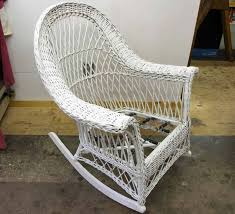 photo 3 of 8 antique wicker rocking chair 4 perfect wicker rocking chair canadian tire