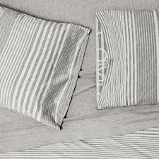 calvin klein modern cotton rhythm bedding grey at dotmaison com
