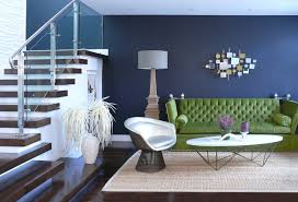green sofa design living room residence san francisco ca