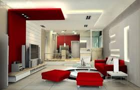 Black White Living Room Red Accents  Interior Design IdeasRed Black Living Room Decorating Ideas