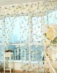 yellow sheer curtains uk yellow sheer curtains canada gauze yellow fl pattern sheer curtains yellow
