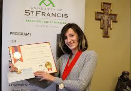 Alysa Kline Named a 2020 Student Laureate | University of St. Francis