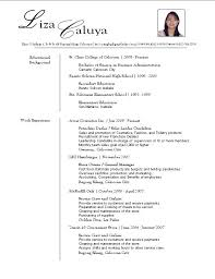 Psychology Resume Template Performance Resume Template