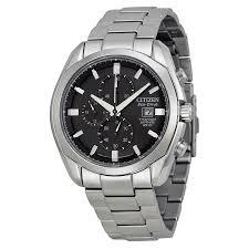 citizen eco drive titanium chronograph mens watch ca0020 56e zoom