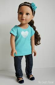 Free Printable Doll Clothes Patterns For 18 Inch Dolls Interesting Design Inspiration