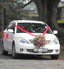 Wedding Car Decorate Wedding World Wedding Decorations For Cars