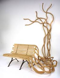 creative wooden furniture. Simple Wooden Artistic Wood Bench Art Throughout Creative Wooden Furniture R