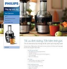 Máy ép trái cây Philips HR1863