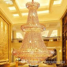american gold crystal chandeliers lamp modern golden crystal chandeliers lights fixture european hotel hall lounge bar home indoor lighting kitchen
