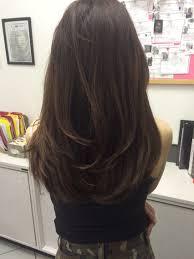 Longlayered Hair Style ในป 2019 แตงผม ไอเดยสผม และ