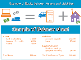 assets and liabilities assets liabilities equity