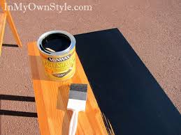 black painted furniturePainting Furniture Black Stain vs Black Paint  In My Own Style