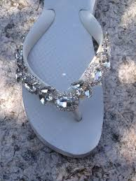 37 best bedazzled flip flops images on pinterest shoes, bling Wedding Flip Flops With Bling wedding shoes flip flops wedges sandals for by wedding flip flops with rhinestones