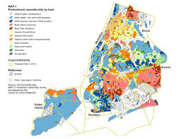 new york city race and other categories map1 raceethnreligion the changing racial and ethnic makeup