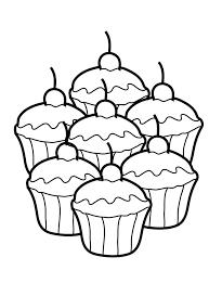 Dessin Cupcake Coloriage Imprimer Moncupcake Fr Moncupcake Fr