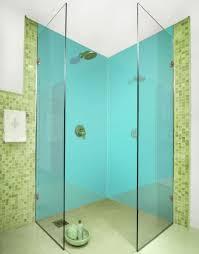 aqua aquamarine coloured acrylic shower wall panels bathroom regarding unique 0