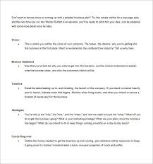 simple one page business plan template business plan template 74 free word excel pdf psd