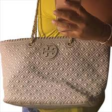 Tory Burch Marion Quilted Chain-strap Tote - Tradesy & Tory Burch Tote. 12345678 Adamdwight.com