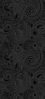 Dark pattern wallpapers iphone wallpaper pattern black phone. Design Flower Line Dark Pattern Iphone X Wallpapers Free Download