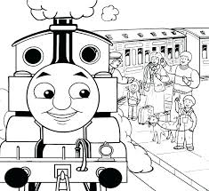 Free Thomas The Train Coloring Pages At Getdrawingscom Free For