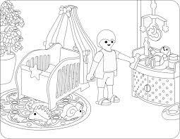 ausmalbilder playmobil familie hauser