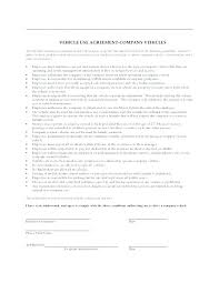 Company Loan To Employee Agreement Thumbnail Company Vehicle Use Agreement Equipment Loan