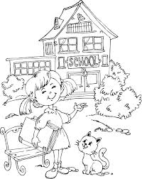 Small Picture Coloring Pages For School Printable Coloring Pages Pinterest