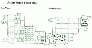 94 honda accord fuse box diagram 94 image wiring 1994 honda accord lx wiring diagram 1994 image on 94 honda accord fuse box