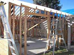 master bedroom suite addition before bedroom bathroom and walk in closet framing